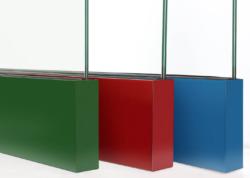 Aluminium-Klemmschiene in verschiedenen Farben