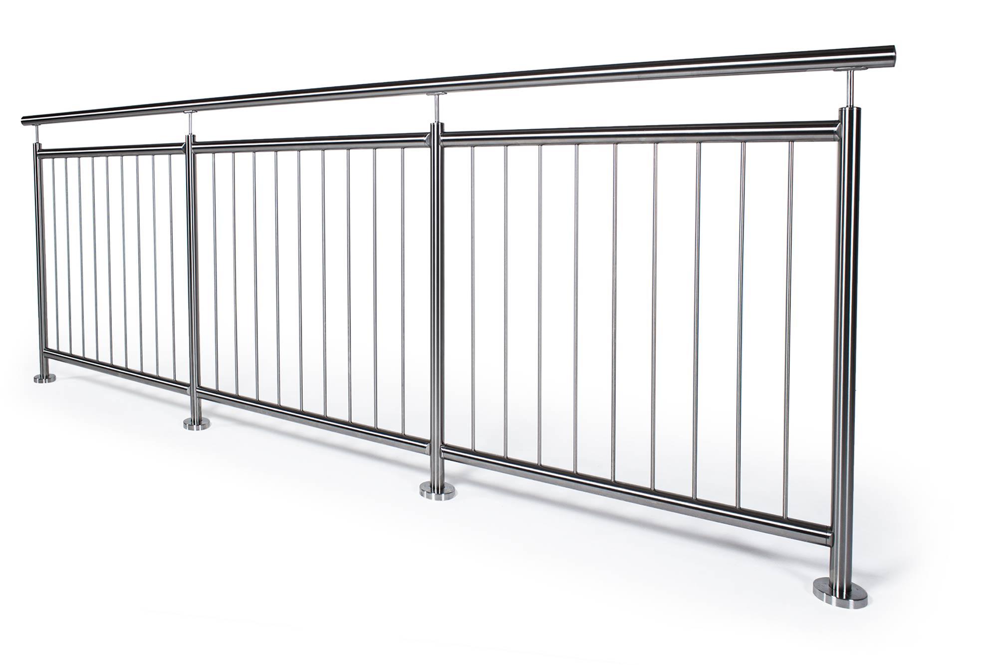 Balkongeländer Mit Glas Oder Edelstahl Komplett Bausatz Geländerladen