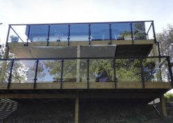 Balkongelander Mit Glas Komplette Bausatze Gelanderladen De