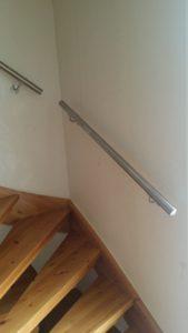 Edelstahl-Handlauf, Treppe, gerade