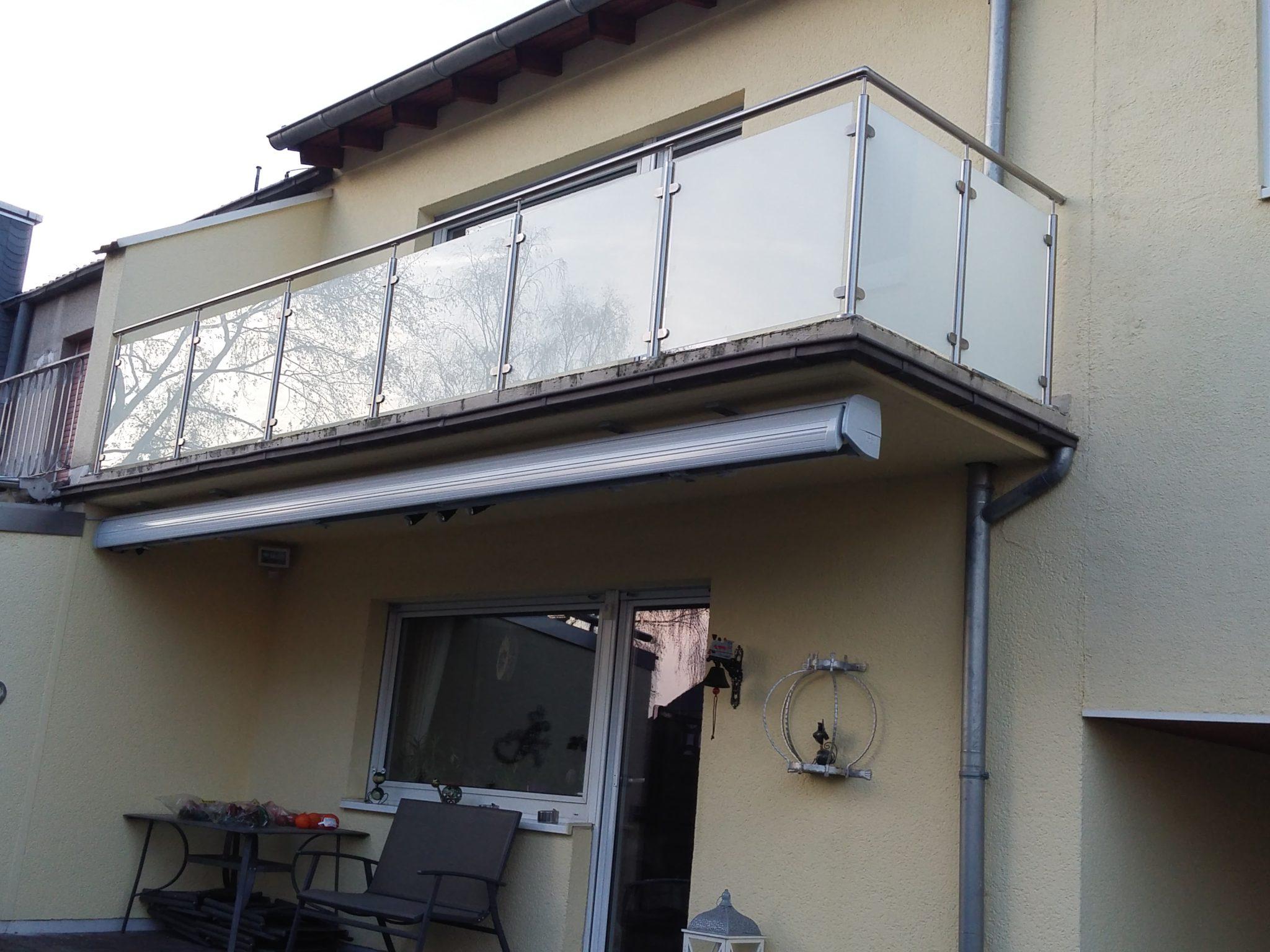 Edelstahlgelander Mit Glas Komplette Bausatze Gelanderladen De