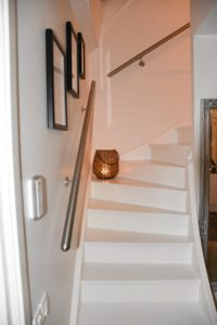 Edelstahl, runde Endkappe, Handlauf für die Treppe