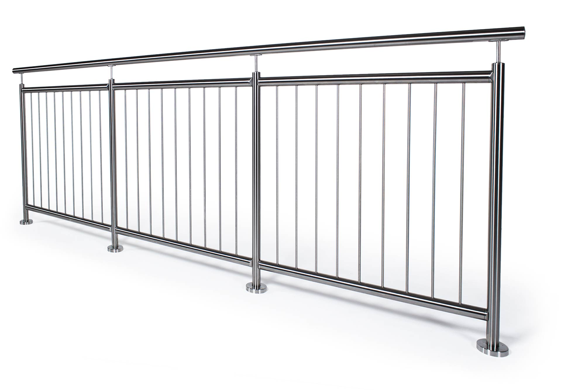 edelstahlstaketengel nder f r balkone terrassen oder. Black Bedroom Furniture Sets. Home Design Ideas