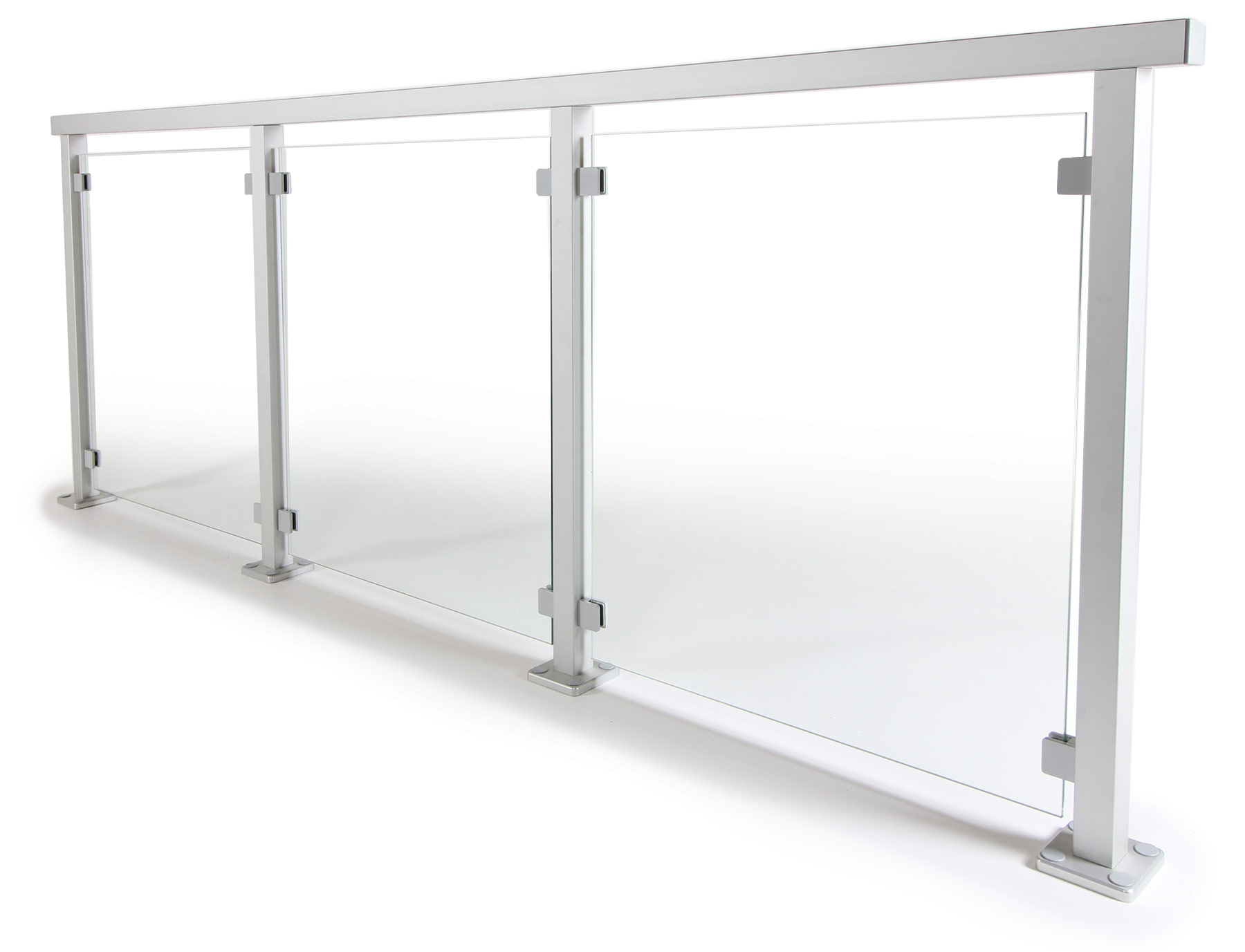 Bevorzugt Aluminiumgeländer nach Maß online bestellen   Geländerladen.de MU34
