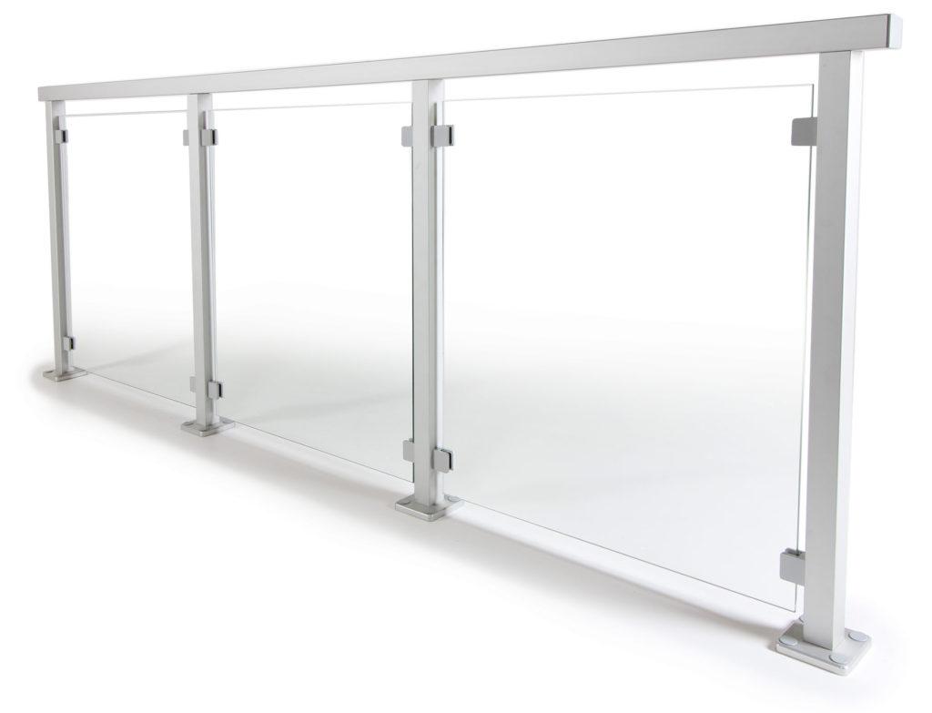 Glasgelander Aus Aluminium Edelstahl Ganzglas Gelanderladen