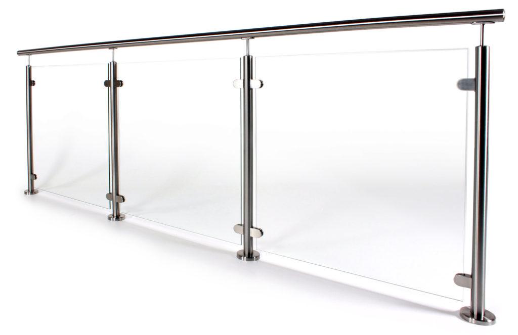 Häufig Glasgeländer aus Aluminium, Edelstahl & Ganzglas | Geländerladen KR22